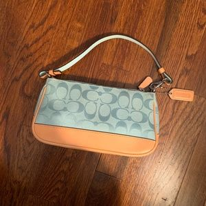 Blue Coach Mini Purse